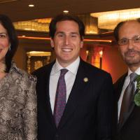 Nassau District Attorney Madeline Singas, Assemblyman Todd Kaminsky, Mark Tannenbaum. image: caryn leigh photography