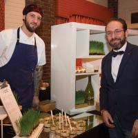 James Ahearn and Anthony Carcaterra of Verde Wine Bar & Ristorante image: jenny gorman