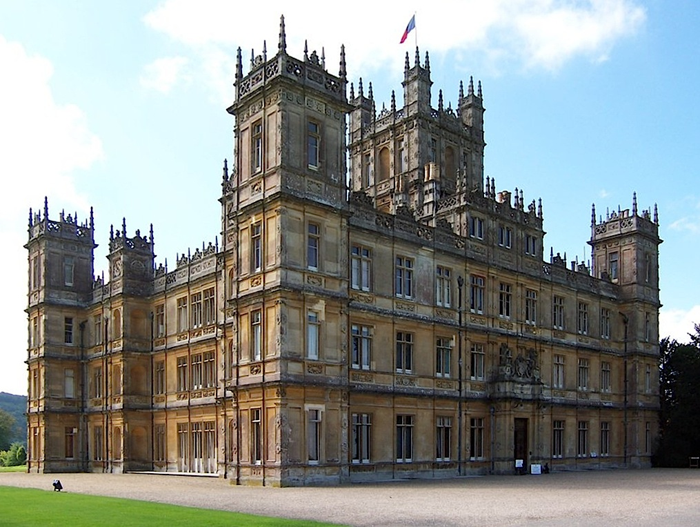 """Highclere Castle"" image: jb + uk_planet"