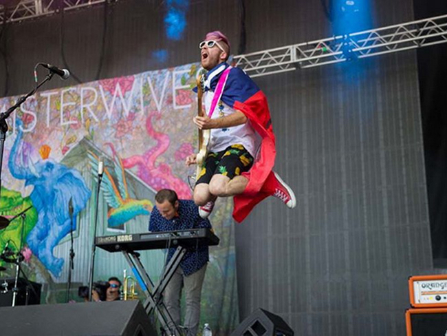 Bass guitarist William Hehir opens up about the band's musical influences and more. image: misterwives/instagram