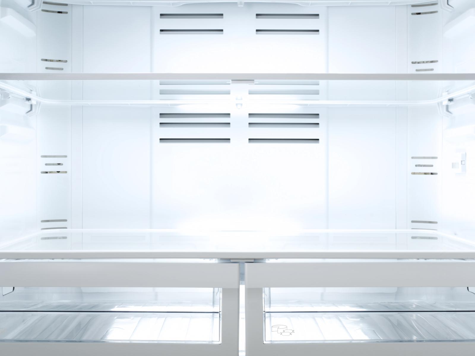 inside a chef's fridge
