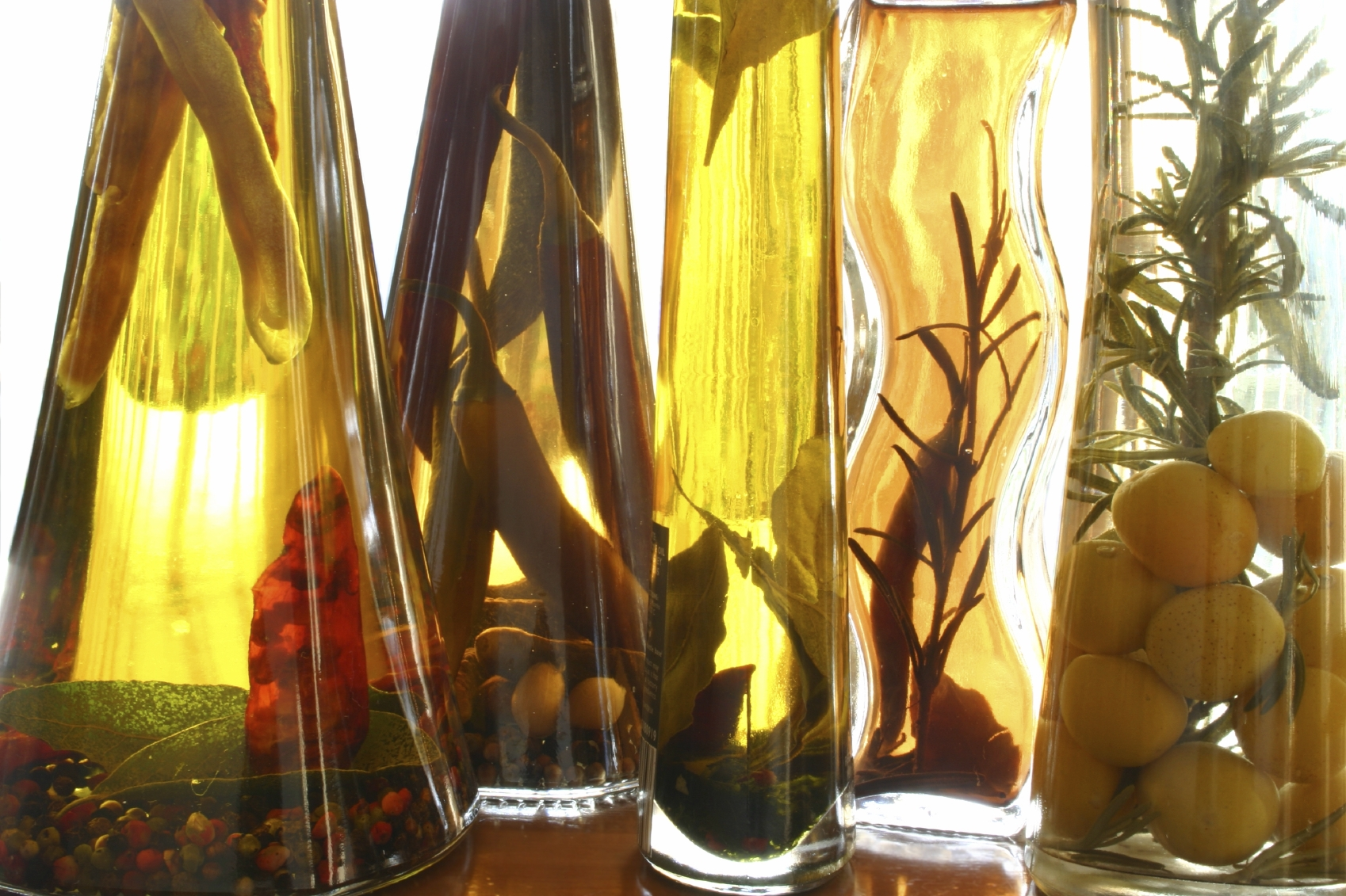 Olive oil has healthy fats that will keep your mood up