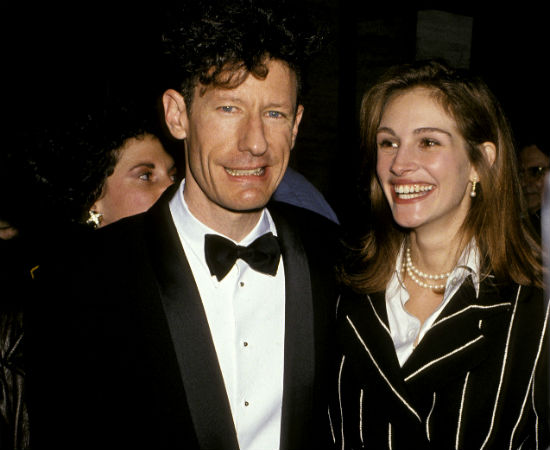 Julia Roberts and Lyle Lovett