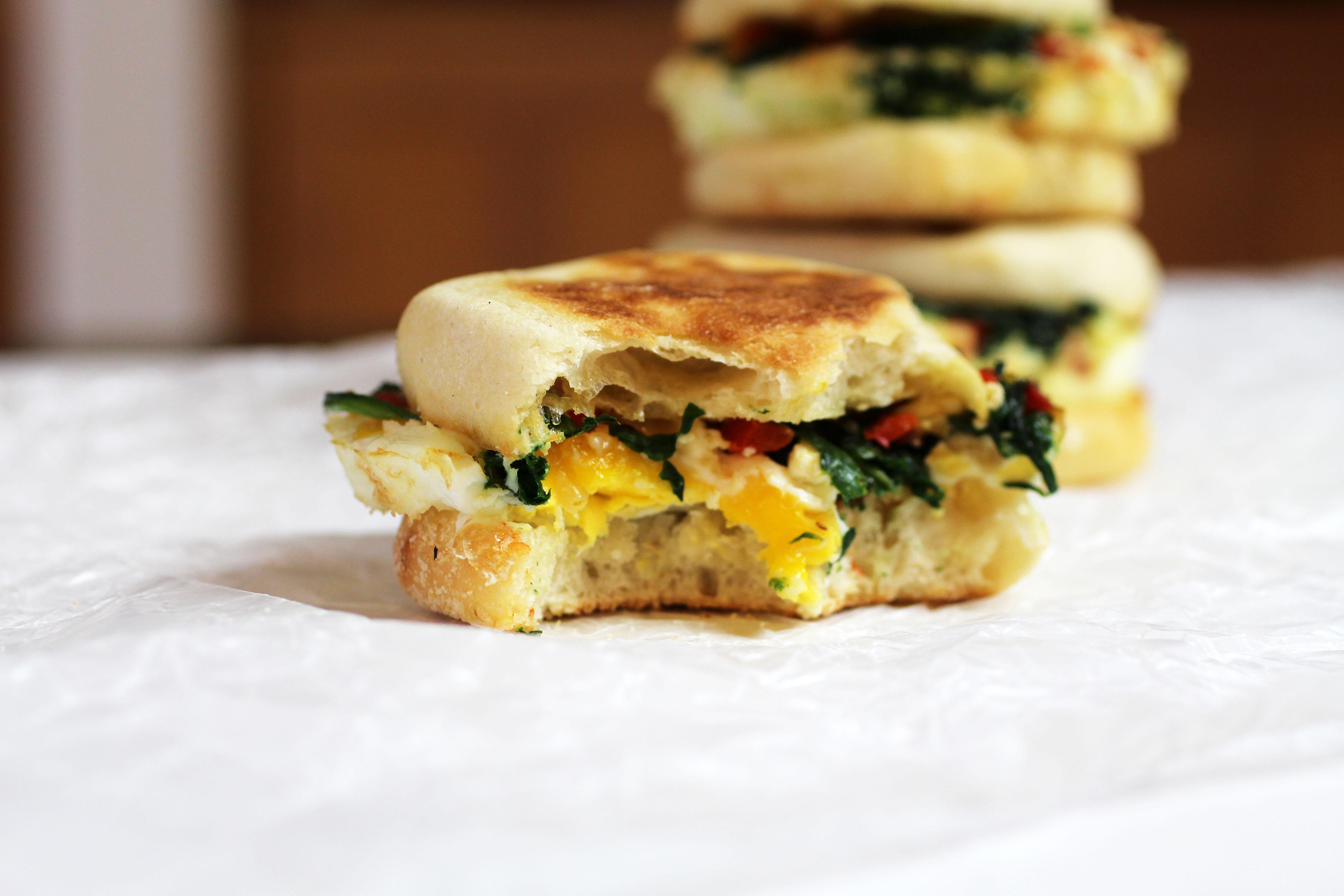 healthy breakfast sandwich recipes