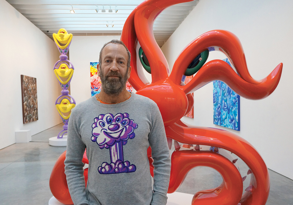 Kenny Scharf launches an otherworldly journey from the Nassau Museum of Art