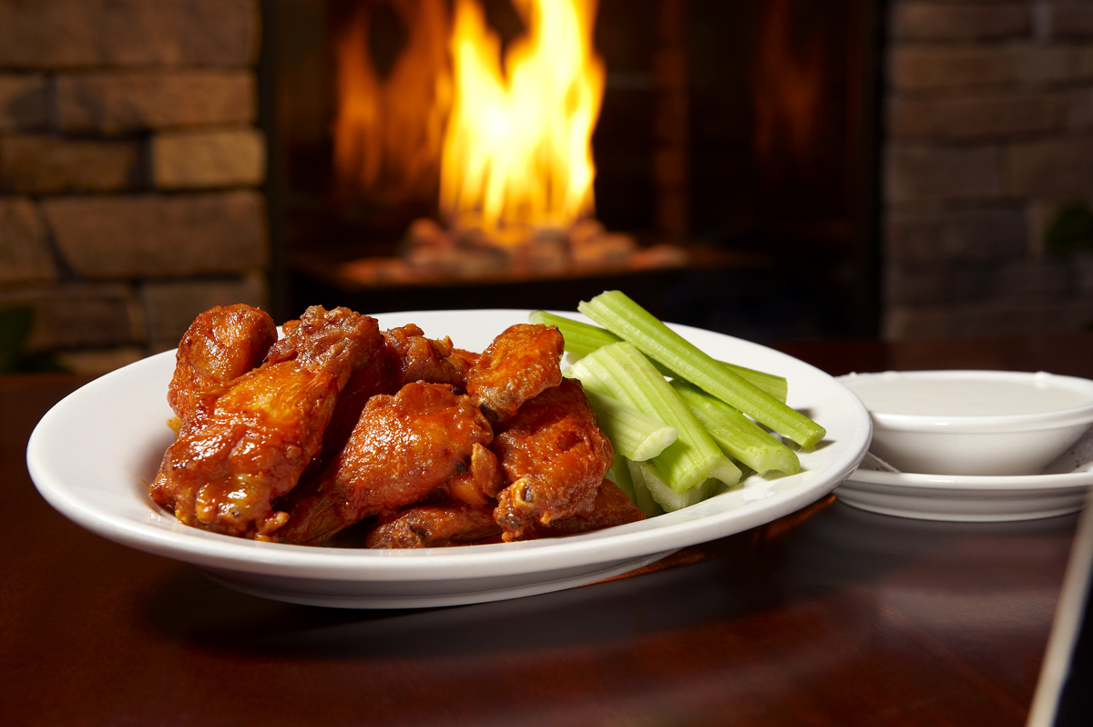 Wings and a beer are the ultimate Super Bowl companions image: library cafe