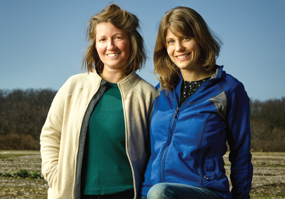 Alethea Vasilas and Erin Staub of Orkestai Farm