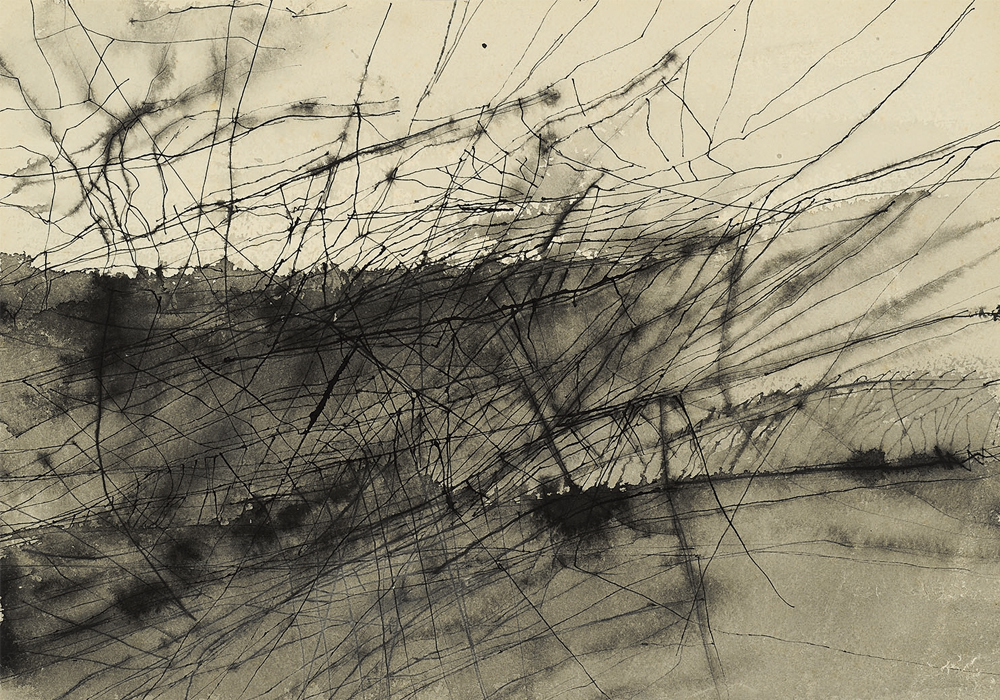 Nasreen Mohamedi Untitled, 1960s Ink on paper