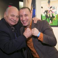 "Burt Young and Boyd ""Rainmaker"" Melson image: len marks photography"