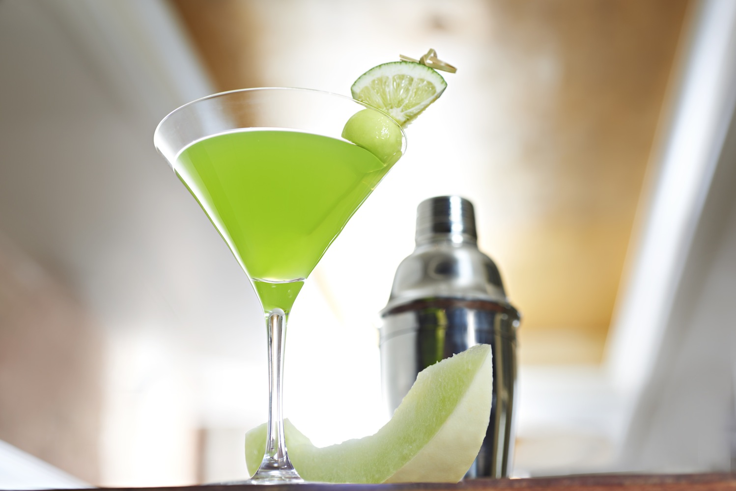 This margarita goes green for St. Patrick's Day image: sauza tequila