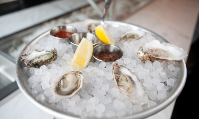 Salt & Barrel, a one-of-a-kind eating destination, specializing in ... Oyster Eating Salt