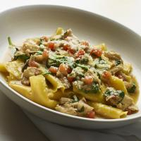 Pappardelle with braised rabbit & mint .image: bill milne