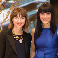 Rosana Agrelo & Ingrid Adomaitis of CH Carolina Herrera. image: jenny gorman