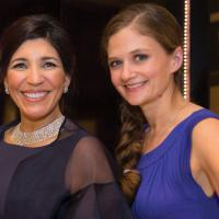 Sally Ann Marchese and Kelsey LaPort of Alzheimer's Association image: jenny gorman