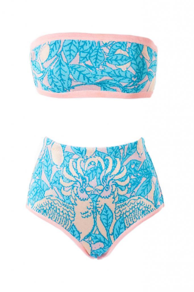 Ekaterina Kukhareva Bandeau Bikini, $274.80 available at www.kukhareva.com