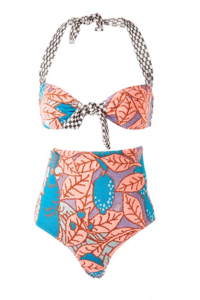 Ekaterina Kukhareva Halterneck Bikini, $317.51 available at www.kukhareva.com