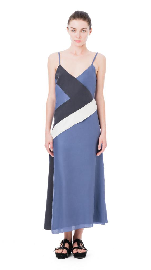 Etienne Aigner Silk Wrap Tank Dress, $475, available at www.etienneaigner.com. image: etienne aigner