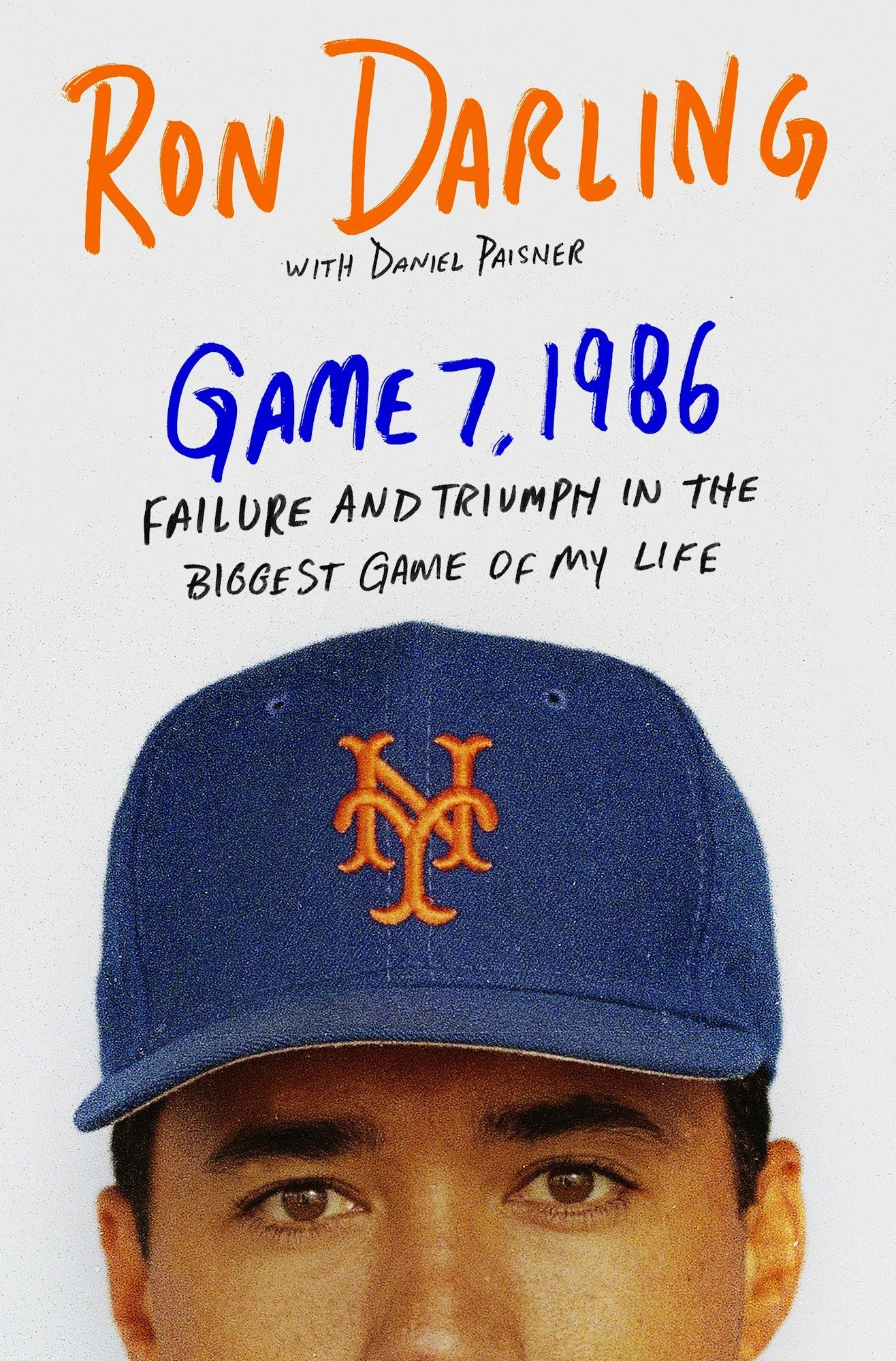 Game 7 1986 - Book Jacket
