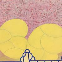 """THOMAS NOZKOWSKI """"Untitled (9-7),"""" 2011 oil on linen on panel"""