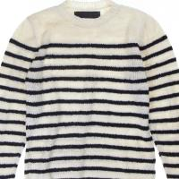 THE ELDER STATESMAN Picasso Sweater, $1,165, available at www.tiinathestore.com. image: tiina the store