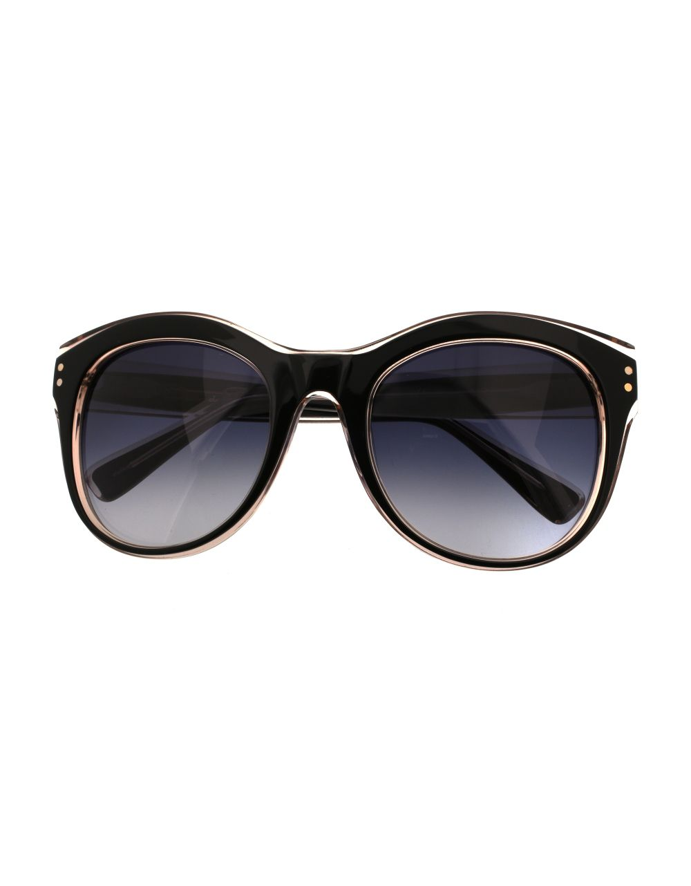 Oscar de la Renta, 54MM Round Cats Eye Sunglasses image: lordandtaylor.com