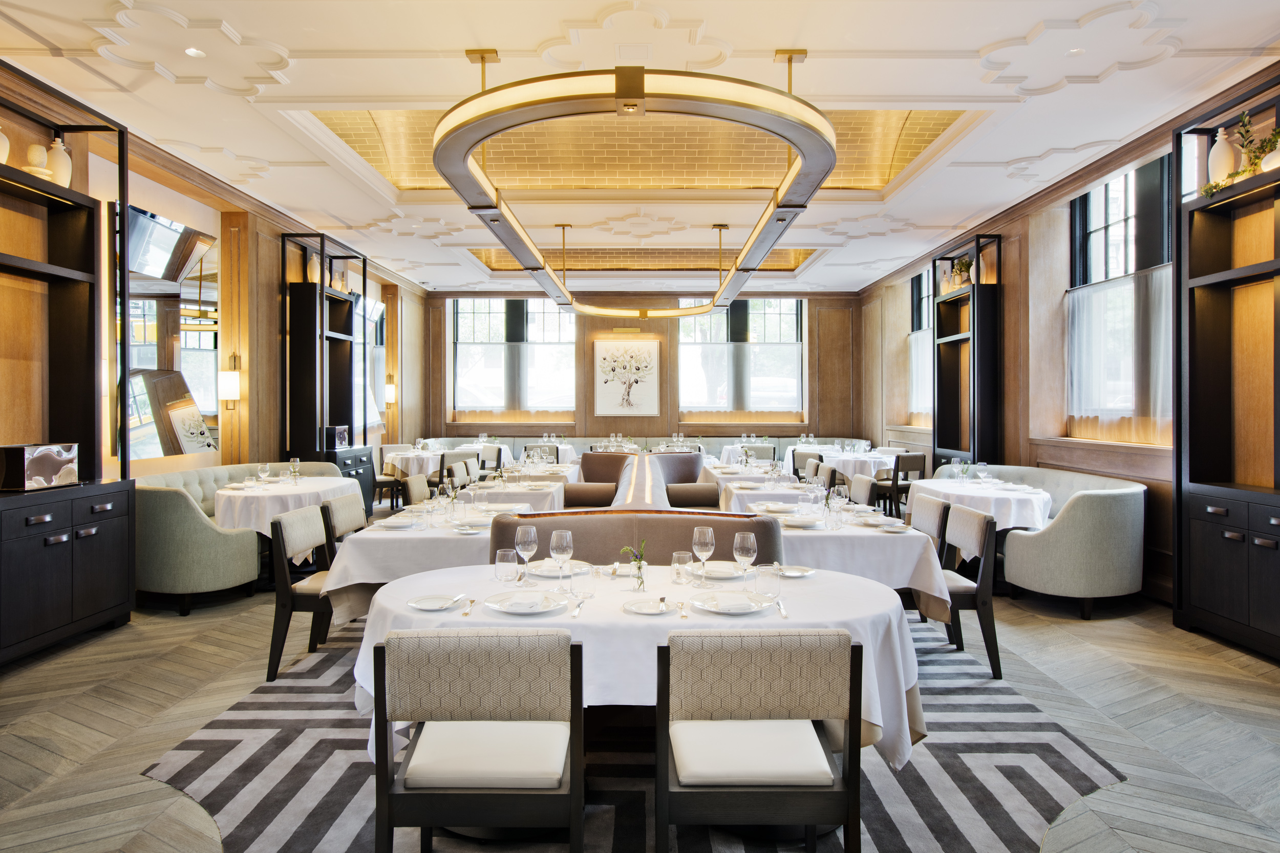 luxe NYC restaurants