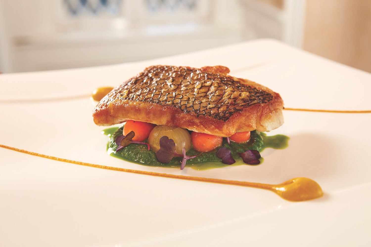 Muzio loves the challenge of cooking sea bass image: view