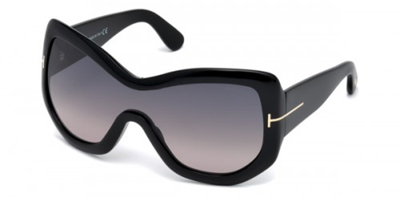 Tom Ford shield sunglasses image: precision eye care