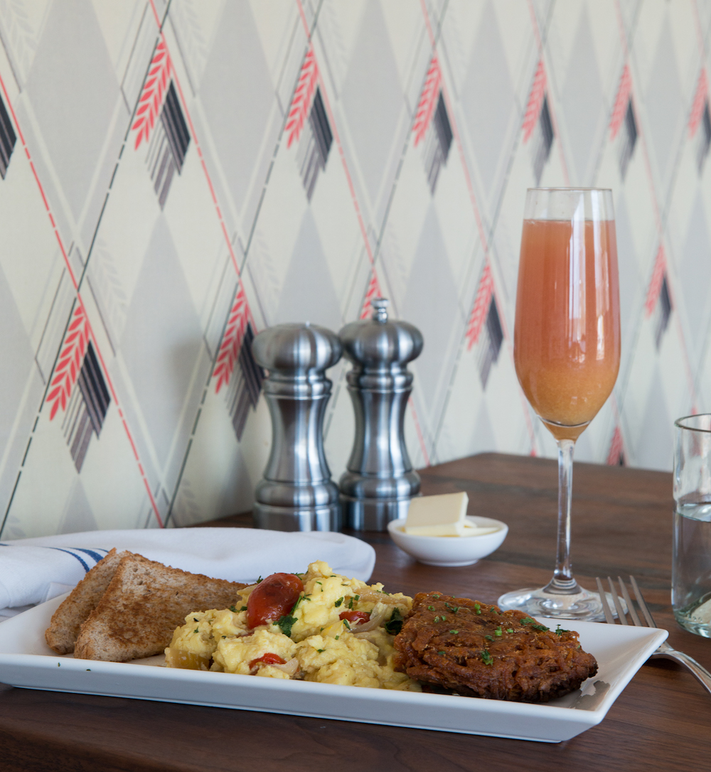 Red Maple's appetizing scrambled egg dishes image: jane beiles
