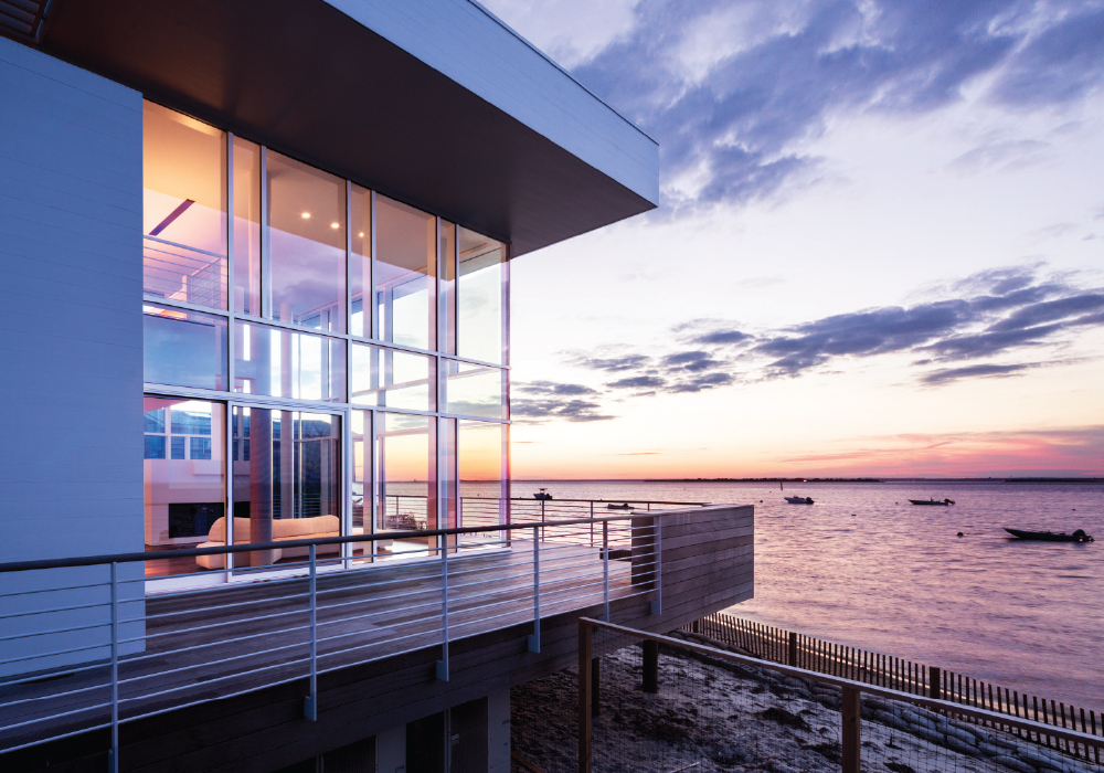 Catch up with legendary architect richard meier long for Fire island house richard meier
