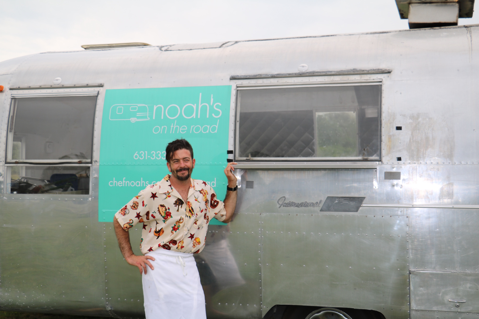 Stop at noah's food truck during your summer winery excursions. image: mary demaio