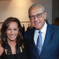 Donna Karan and Frank Castagna, chairman of Castagna Realty image: rob kim