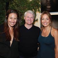 Gabby De Felice, Kevin Slayers and Elizabeth Jordan image: rob kim