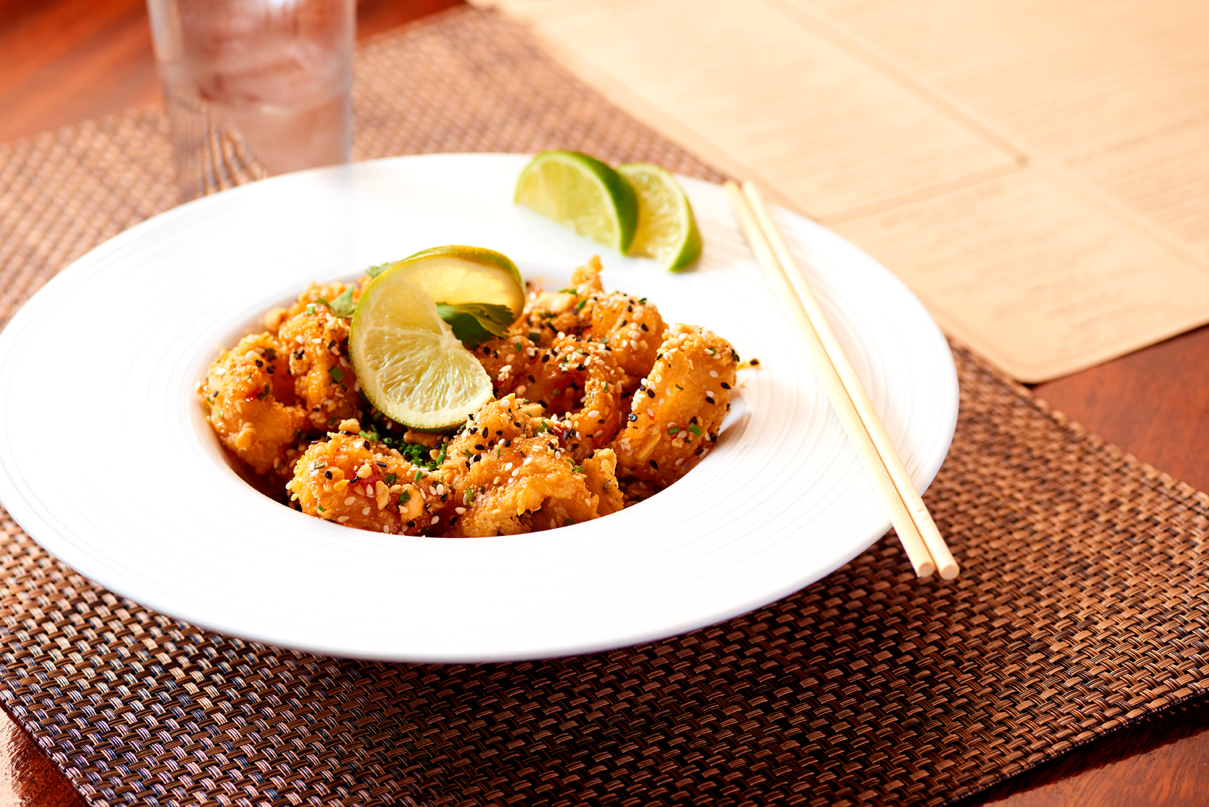 Like guests, Muzio can't get enough of the Thai Calamari image: view