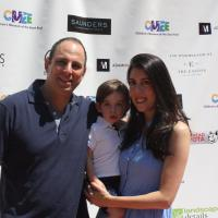 Peter Shapiro, Rebecca Rosen and their son