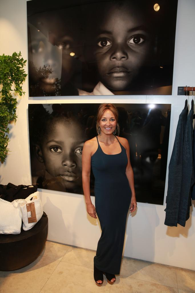 Artist Elizabeth Jordan attends the Urban Zen store opening in Americana Manhasset. image: photo by rob kim/getty images for donna karan