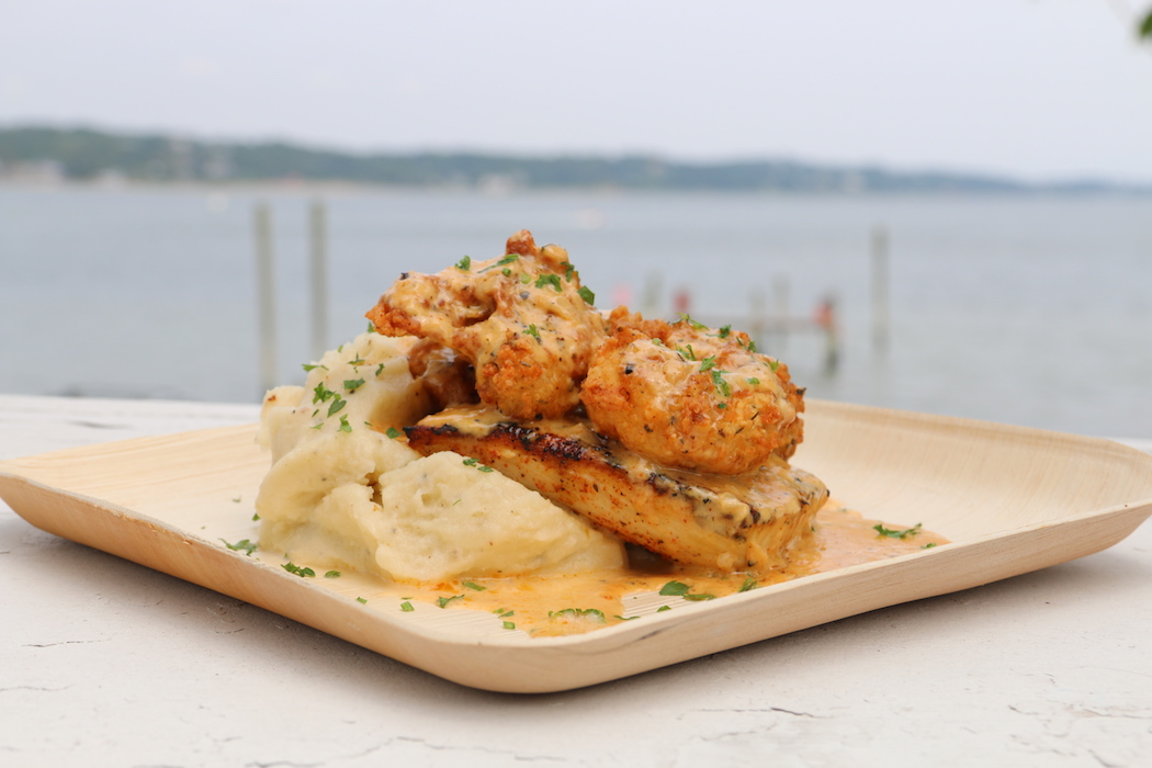 The mampi mahi is one of Hersh's favorite dishes