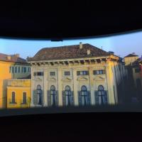 Italian architecture is shown throughout the panoramic video to lure in viewers. image: casey kelbaugh
