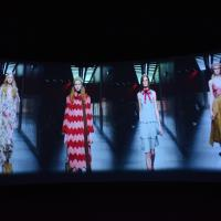 Various fashion shows featuring luxury Italian fashion designers are in the installation to show their prestigious stance in the luxury garment industry. image: casey kelbaugh
