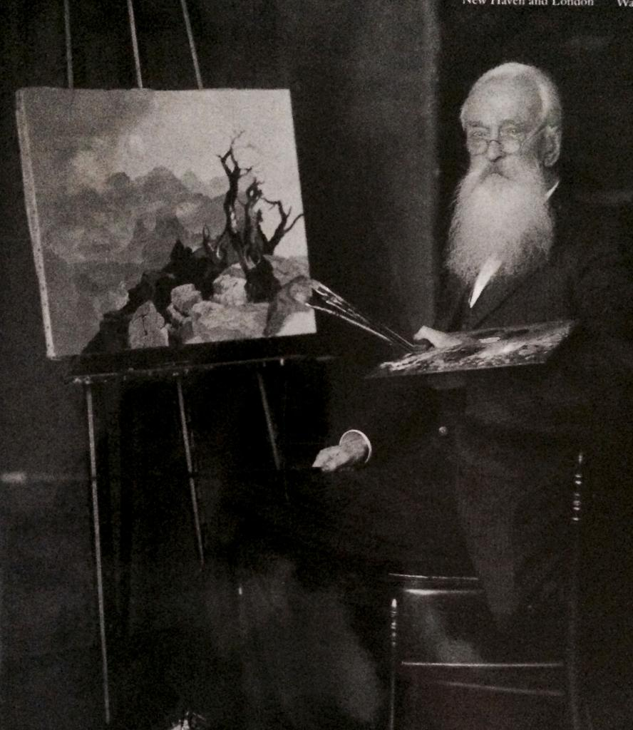 Thomas Moran at the Easel, circa 1915 image: courtesy of the east hampton library, long island collection