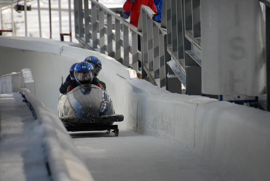 Lake Placid is known for The Miracle on Ice...and bobsledding.