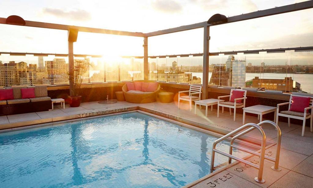 NYC Hotel Pools