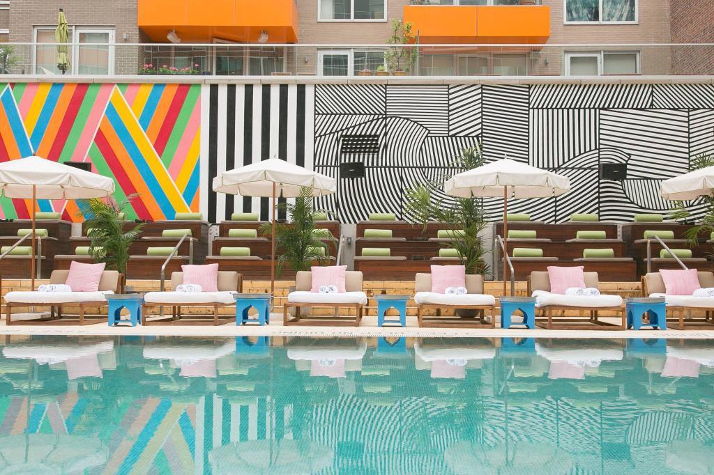 Hotel Pools NYC