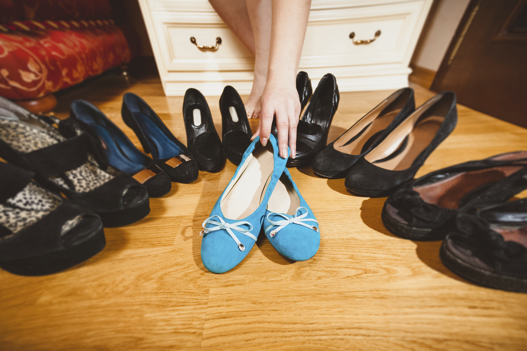 Create your own little shoe-filled hideaway image: artfoliophoto