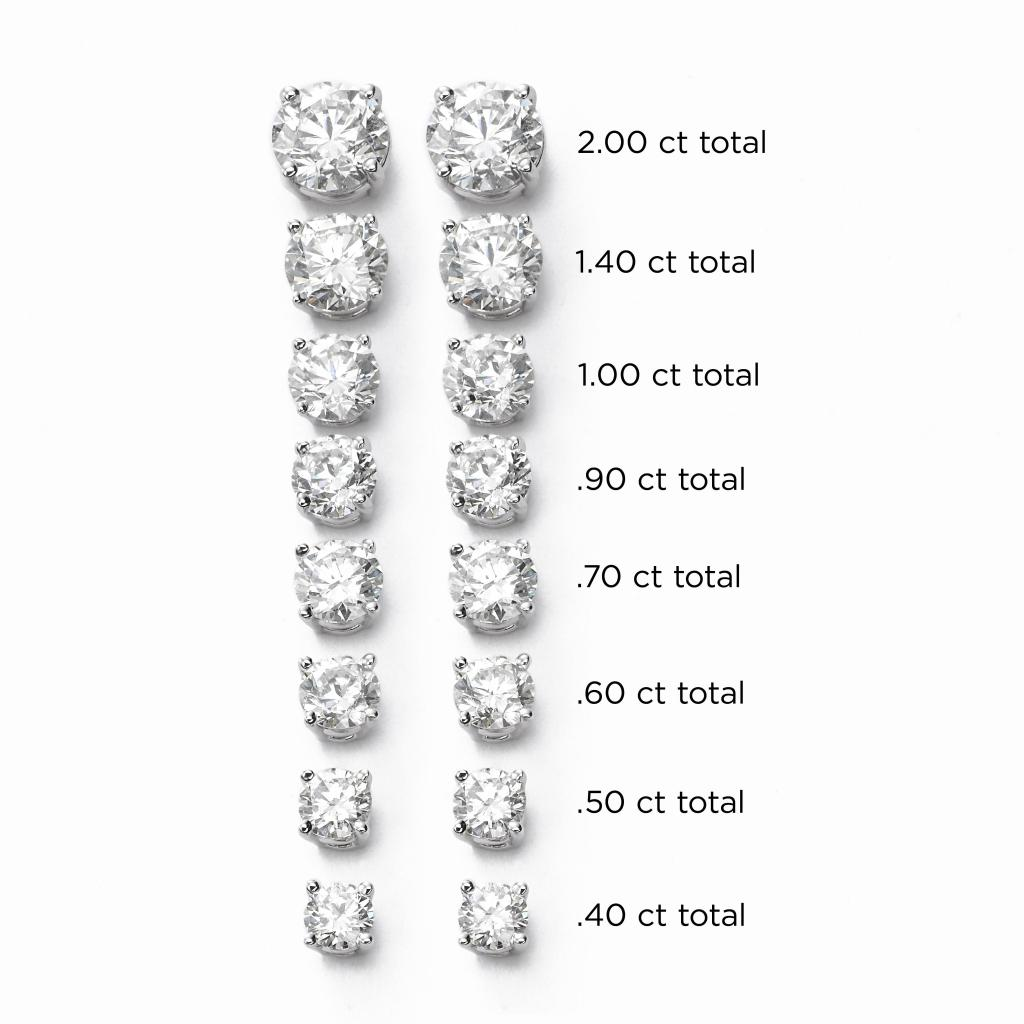 Find your perfect diamond studs at Fortunoff Fine Jewelry