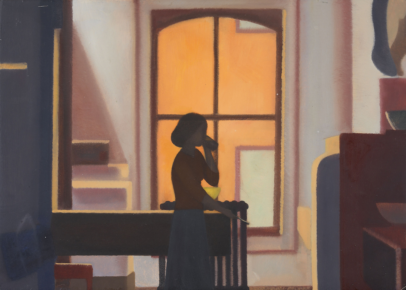 Helen Miranda Wilson, Interior Kitchen, 1980. Heckscher Museum of Art; Gift of Martin, Richard, Nancy, and James Sinkoff in loving memory of their parents, Alice and Marvin Sinkoff.