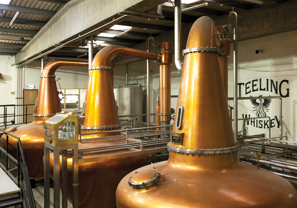 Tasting Whiskey Distillery places to go in ireland