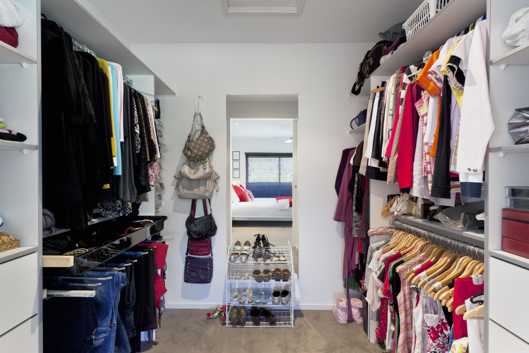 Как сделать гардеробную удобной ?? дизайн квартиры.