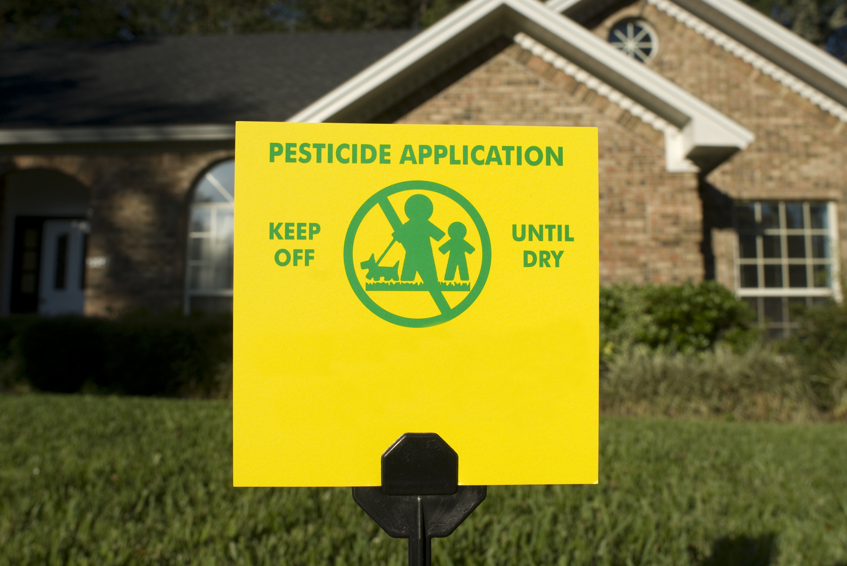 Organic pesticides can be found in nearly any gardening store image: kirby hamilton