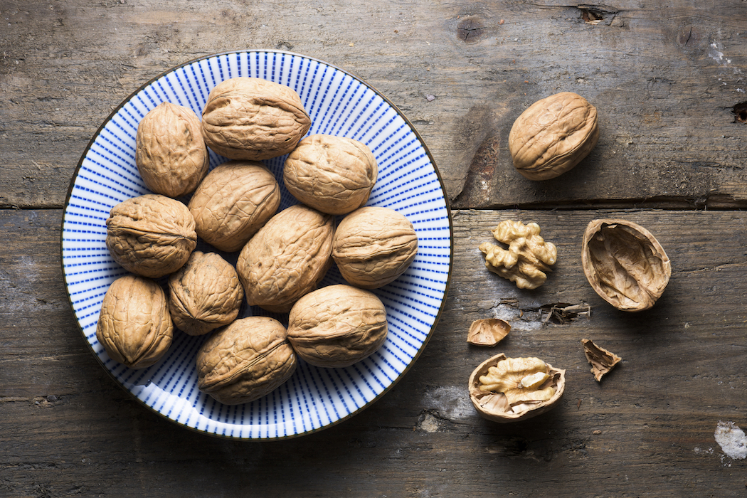 A couple of walnuts contain tryptophan, which helps lull people to sleep image: anthia cumming